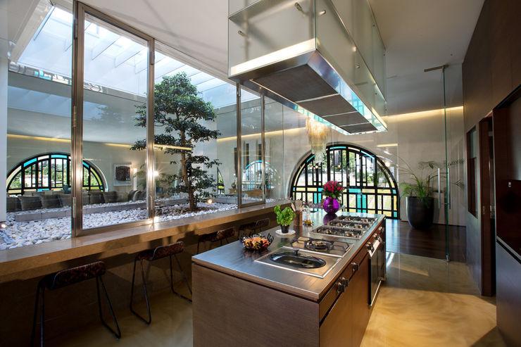 kitchen AG&F architetti Giardino d'inverno moderno