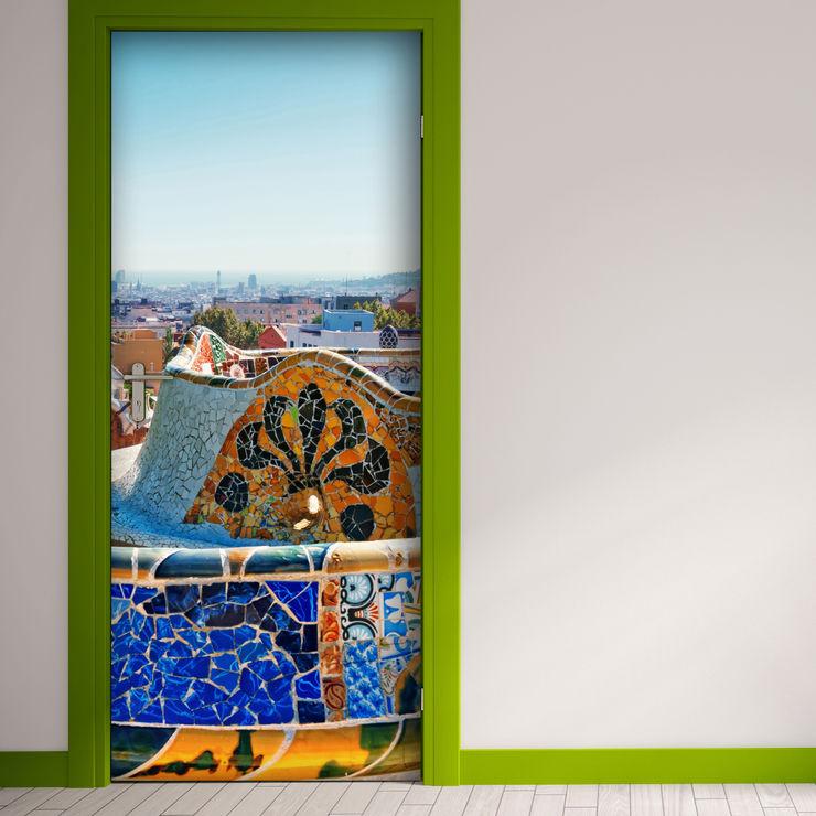 Crearreda 窗戶與門門 塑木複合材料 Multicolored