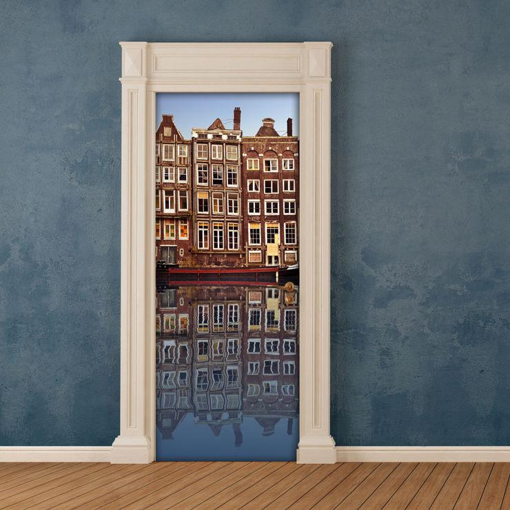 Crearreda 窗戶與門門 塑木複合材料 Beige