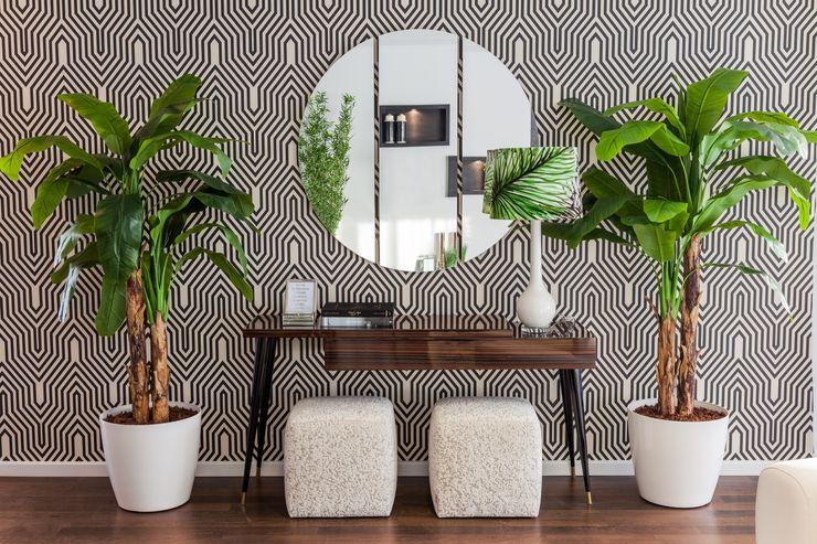 Hall Movelvivo Interiores Corridor, hallway & stairsAccessories & decoration Wood effect