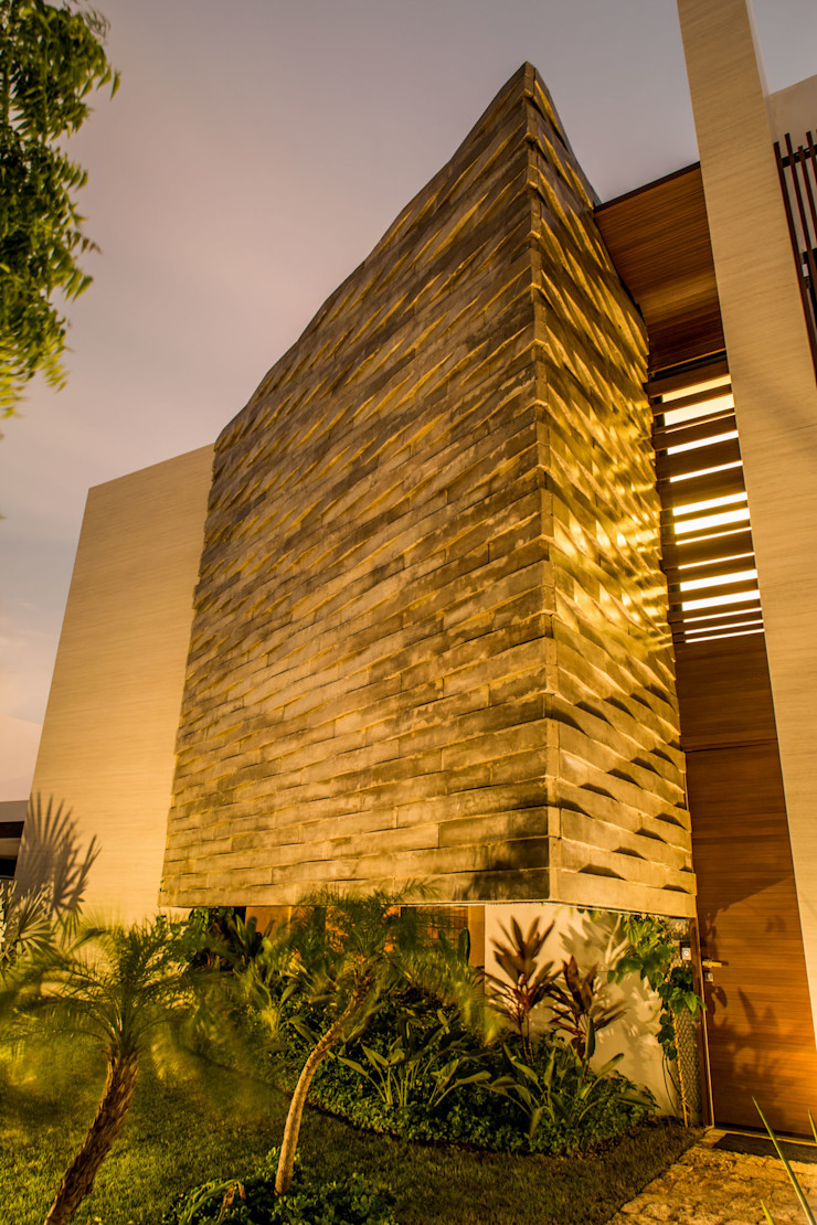 FGO Arquitectura Modern houses Beige
