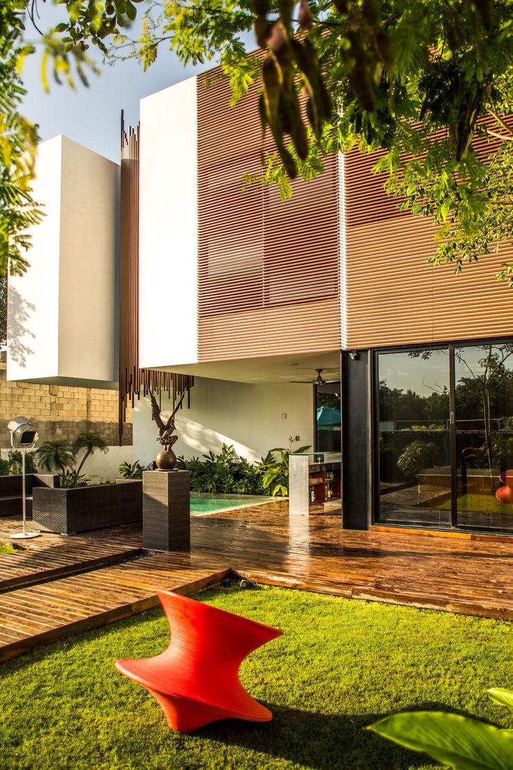 FGO Arquitectura Modern houses Wood Wood effect