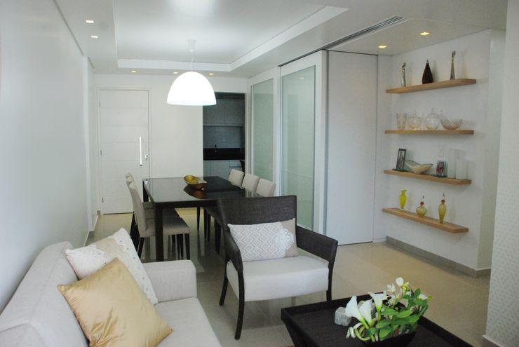 Martins Lucena Arquitetos Modern living room