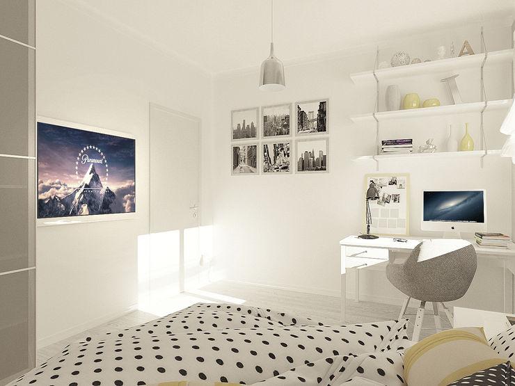 OK Interior Design Modern style bedroom