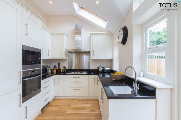 Loft Conversion, Sheen SW14 TOTUS Modern kitchen