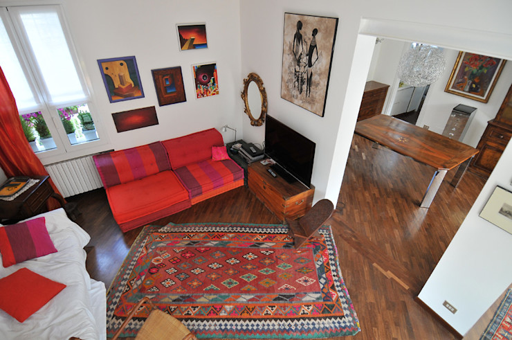 VITTORIO GARATTI ARCHITETTO Living room