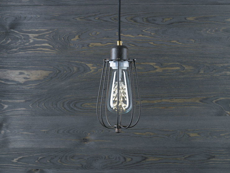 KOPENHAGEN LOFT RUSTY PENDANT LED Altavola Design Sp. z o.o. Living roomLighting Metal