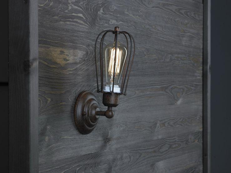 KOPENHAGEN LOFT RUSTY WALL Altavola Design Sp. z o.o. Living roomLighting Metal