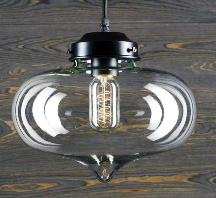 LONDON LOFT NO. 1-PENDANT LAMP Altavola Design Sp. z o.o. Living roomLighting Glass Transparent