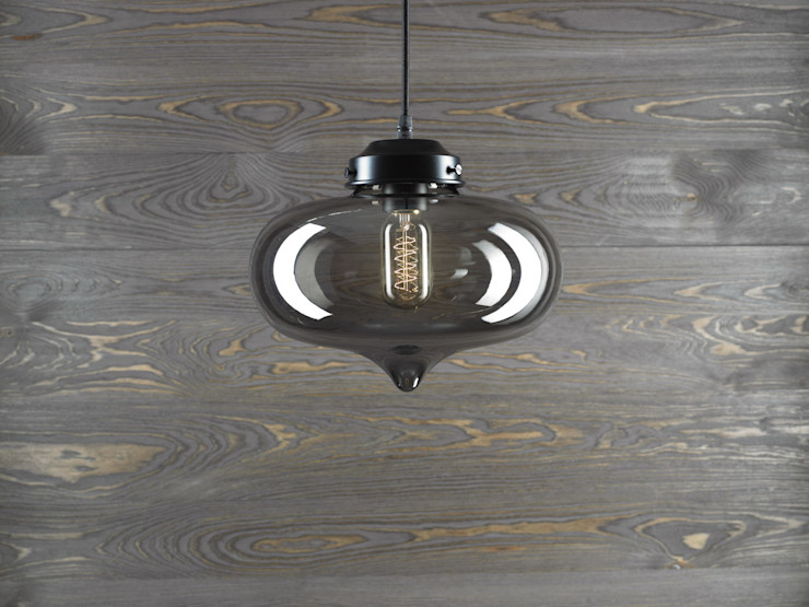LONDON LOFT NO. 1S – PENDANT LIGHTING Altavola Design Sp. z o.o. Living roomLighting Glass