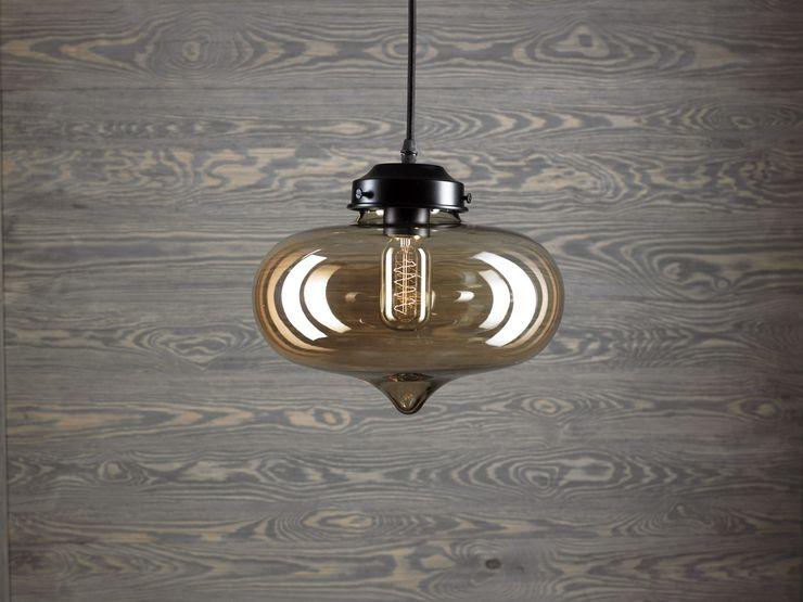 LONDON LOFT NO. 1 B-PENDANT LAMP Altavola Design Sp. z o.o. Living roomLighting Glass Yellow