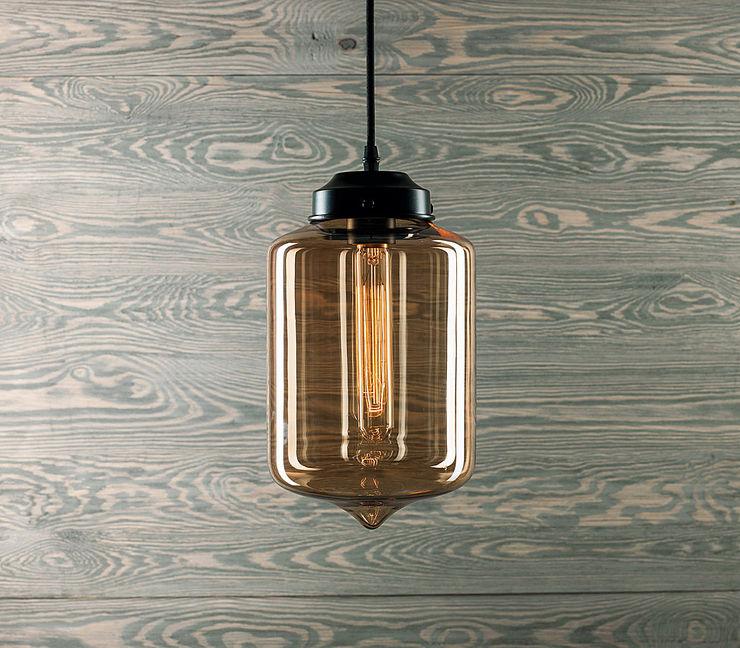 LONDON LOFT NO. 2 B-PENDANT LAMP Altavola Design Sp. z o.o. Living roomLighting Glass Yellow