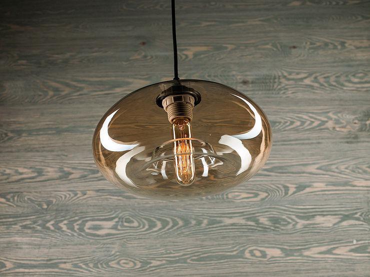 LONDON LOFT NO. 3 B–PENDANT LIGHTING Altavola Design Sp. z o.o. Living roomLighting Glass Yellow