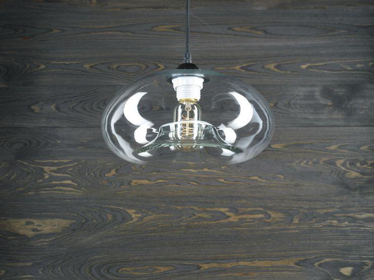 LONDON LOFT NO. 3–PENDANT LIGHTING Altavola Design Sp. z o.o. Living roomLighting Glass Transparent