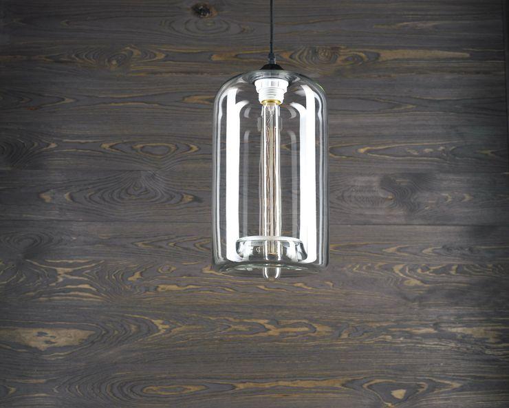 LONDON LOFT NO. 4–PENDANT LIGHTING Altavola Design Sp. z o.o. Living roomLighting Glass Transparent