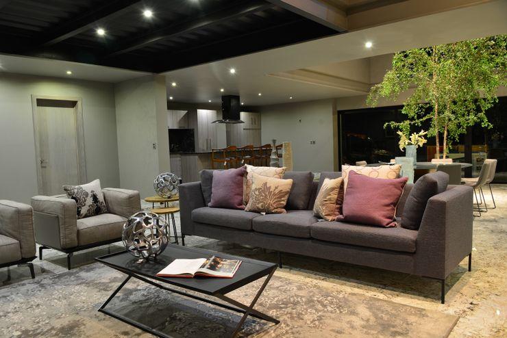 Con Contenedores S.A. de C.V. Living room Purple/Violet