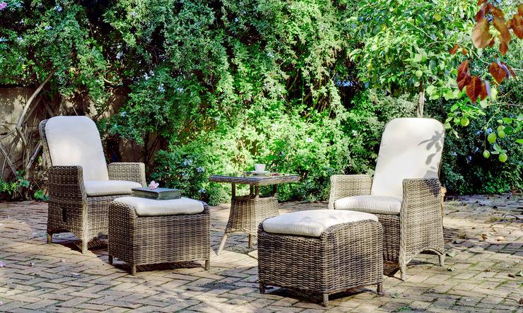 Hevea Garden Furniture Synthetic Brown