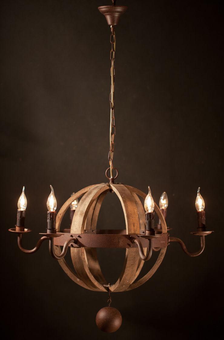 COGNAC BARREL NO. 2 Altavola Design Sp. z o.o. Living roomLighting Wood