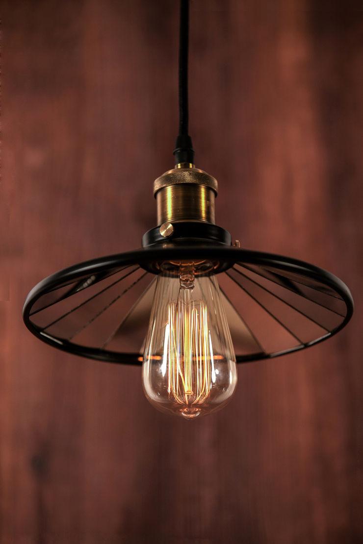 EINDHOVEN LOFT NO. 3 – PEDANT LAMP Altavola Design Sp. z o.o. Living roomLighting Metal Black