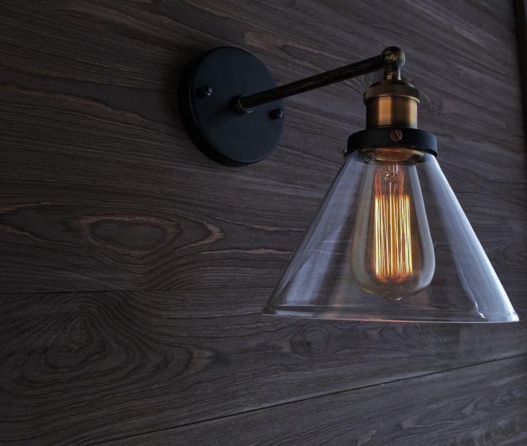 NEW YORK LOFT NO. 1 – WALL LAMP Altavola Design Sp. z o.o. Living roomLighting Transparent