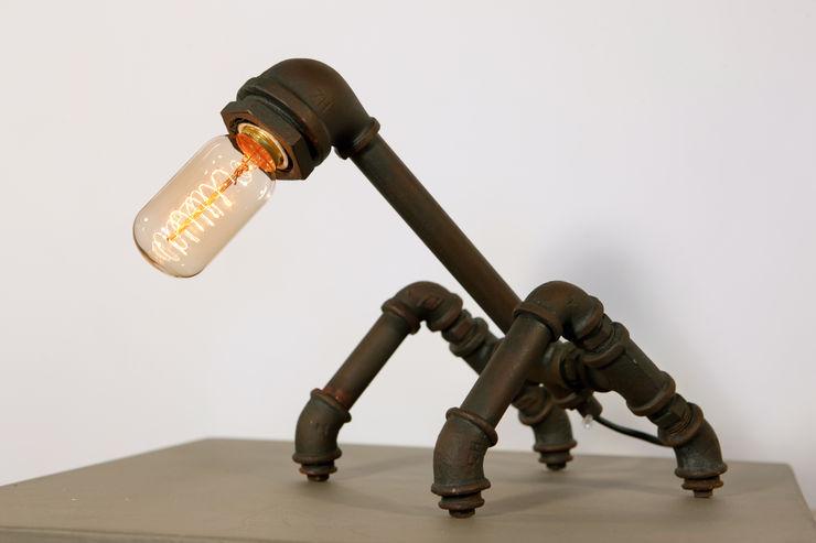 INDUSTRIAL LOFT NO. 1-TABLE LAMP Altavola Design Sp. z o.o. Study/officeLighting