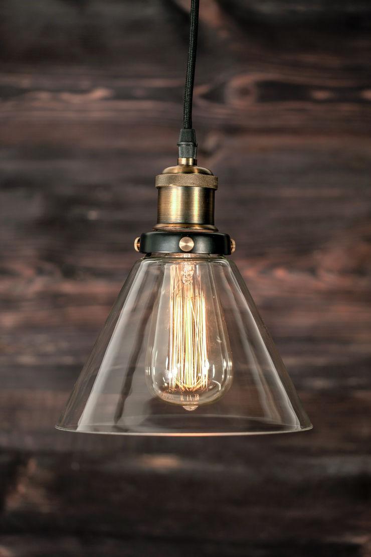 NEW YORK LOFT NO. 1-PENDANT LAMP Altavola Design Sp. z o.o. Living roomLighting Transparent