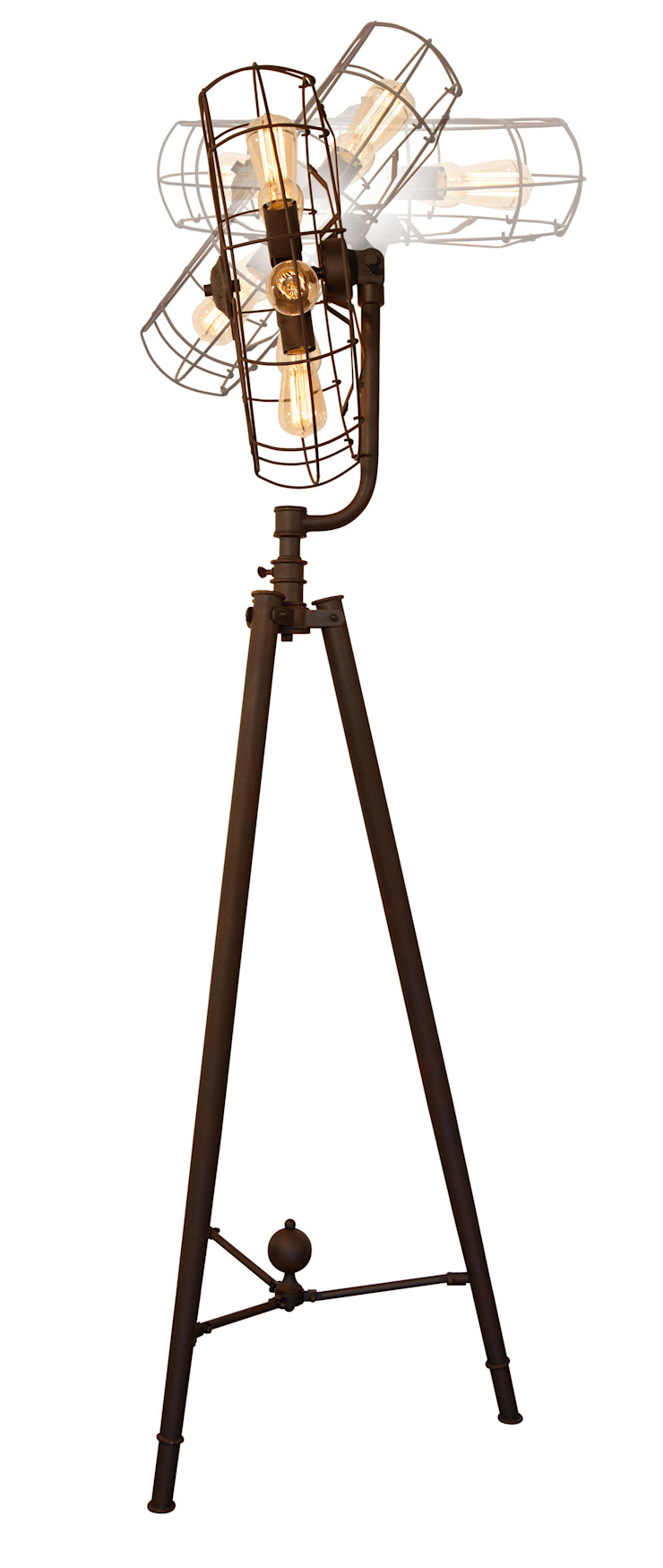 ROMA LOFT NO. 3-FLOOR LAMP Altavola Design Sp. z o.o. Living roomLighting