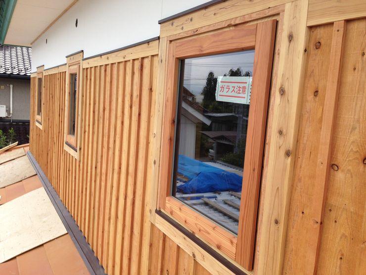 株式会社山崎屋木工製作所 Curationer事業部 Eclectic style windows & doors Bamboo