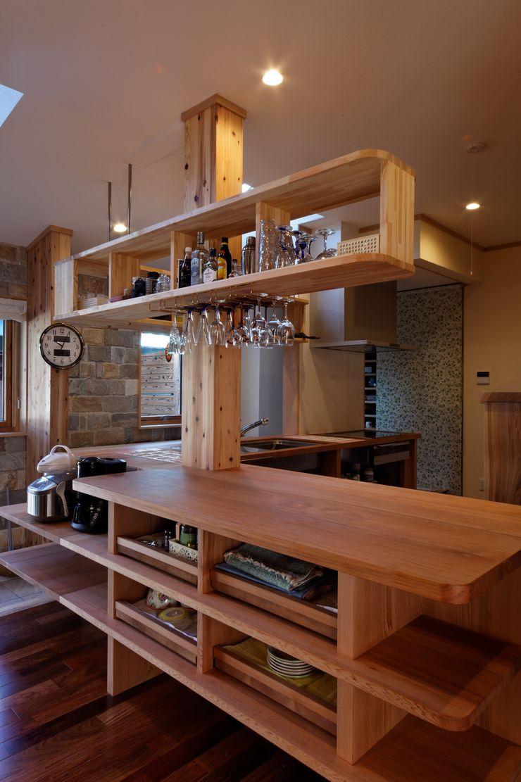株式会社山崎屋木工製作所 Curationer事業部 Kitchen Wood Brown
