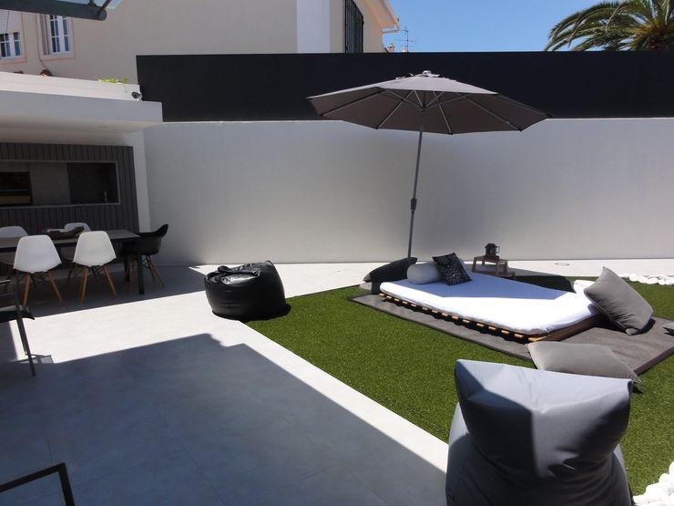 ARQAMA - Arquitetura e Design Lda Jardin moderne