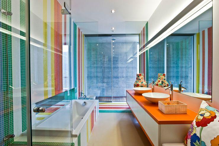 Kids Bathroom Viterbo Interior design Eclectische badkamers