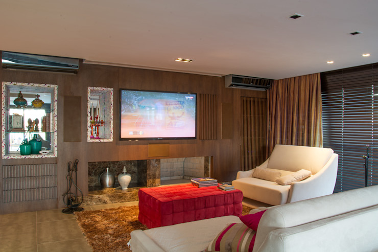 Michele Moncks Arquitetura Modern Living Room
