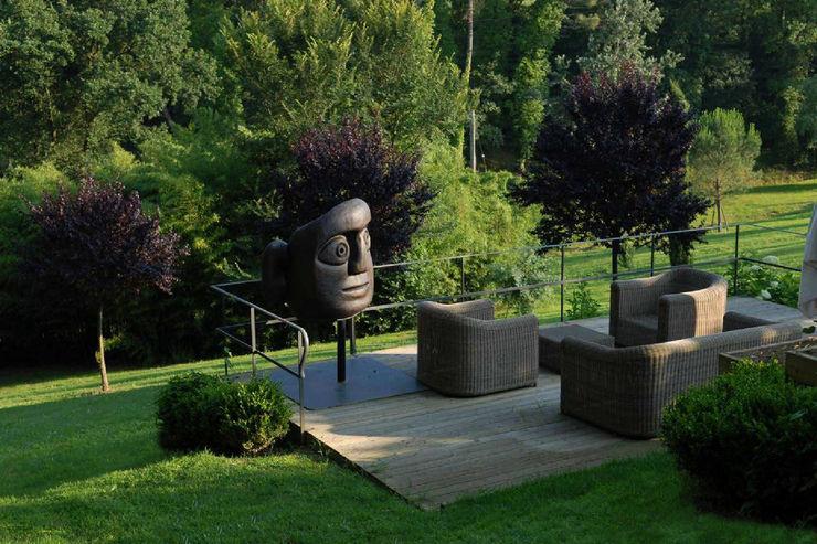 Giuseppe Lunardini Architetto del Paesaggio Akdeniz Balkon, Veranda & Teras