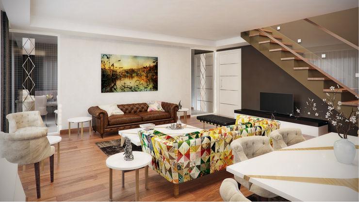 Decora 现代客厅設計點子、靈感 & 圖片