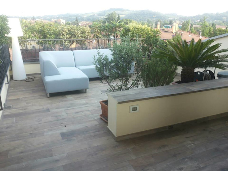 Benuzzi srl Modern Terrace Ceramic