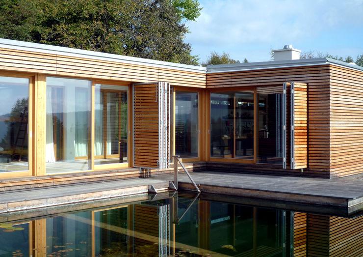 Holzhaus Architekt Zoran Bodrozic Minimalistische Häuser
