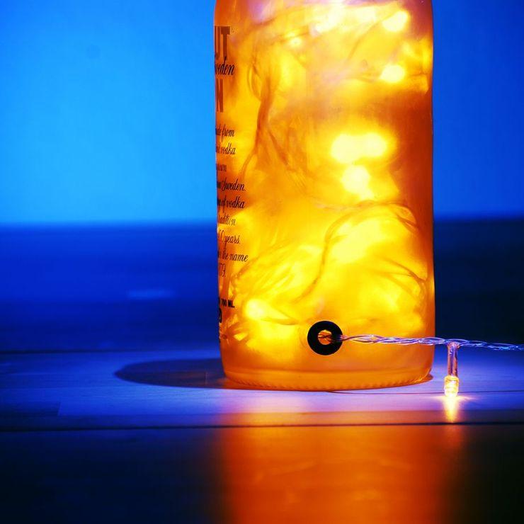 LAMPBADA DESIGN LAMP Внутрішнє озеленення Скло Янтарний / Золотий