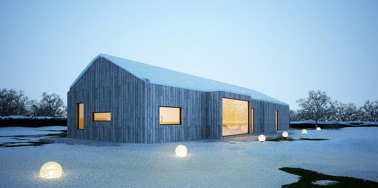 Majchrzak Pracownia Projektowa Modern houses