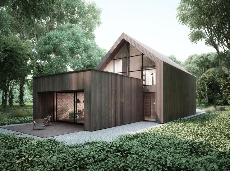 Majchrzak Pracownia Projektowa Moderne Häuser