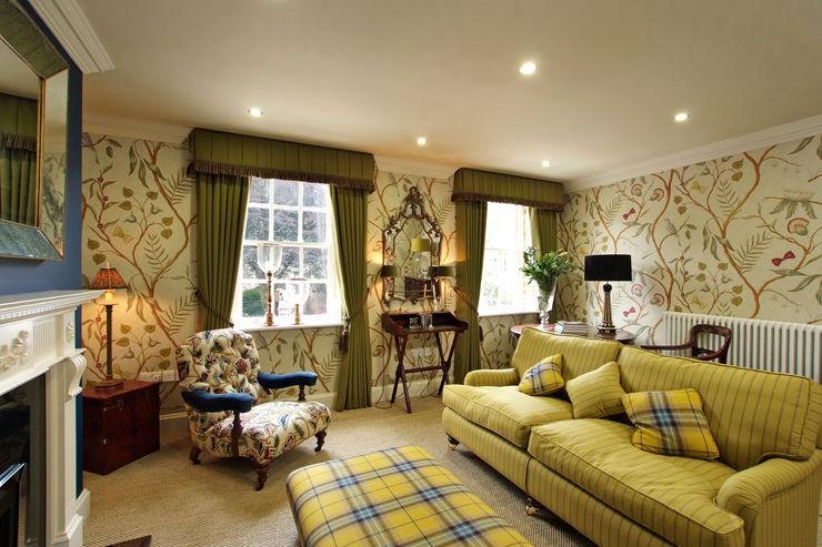 The Pureycust, Townhouses, York city Peter Silk Living room