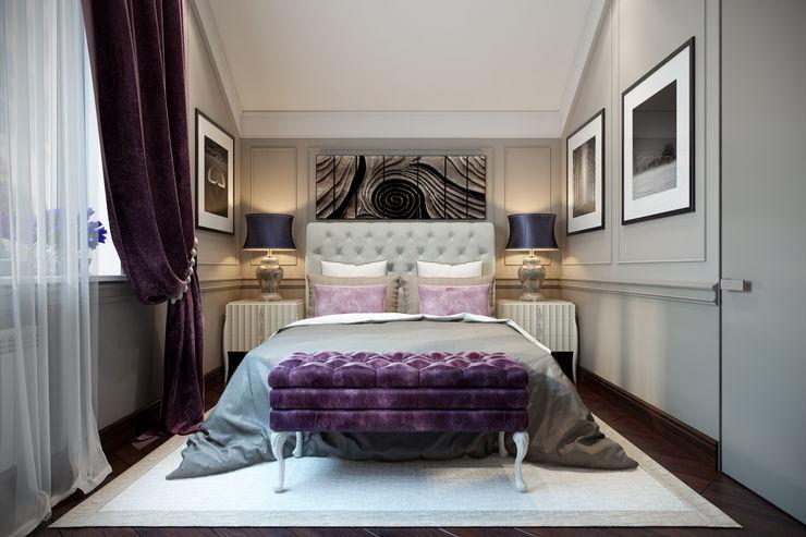 Design Studio Details Eclectic style bedroom