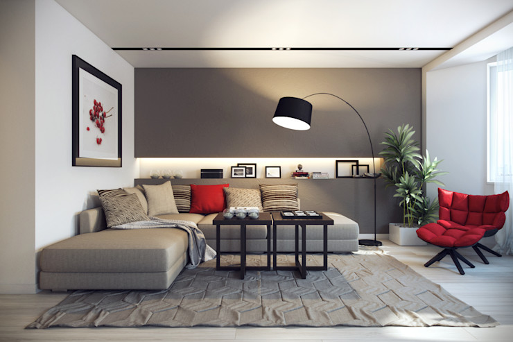 Design Studio Details Salones eclécticos