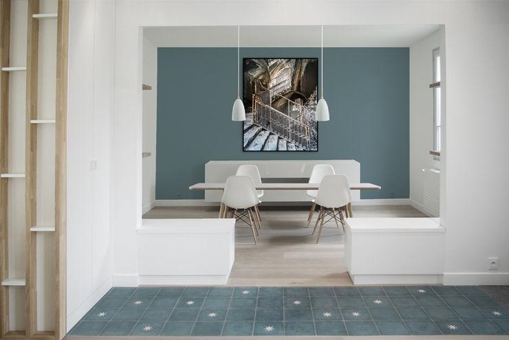 Entrée + Salle à manger Yeme + Saunier Salle à manger minimaliste Bleu