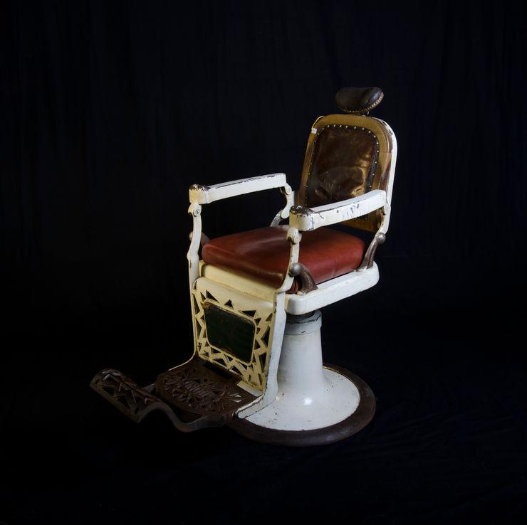 Sillón de barbero Pablo Antigüedades SalonesSofás y sillones Hierro/Acero