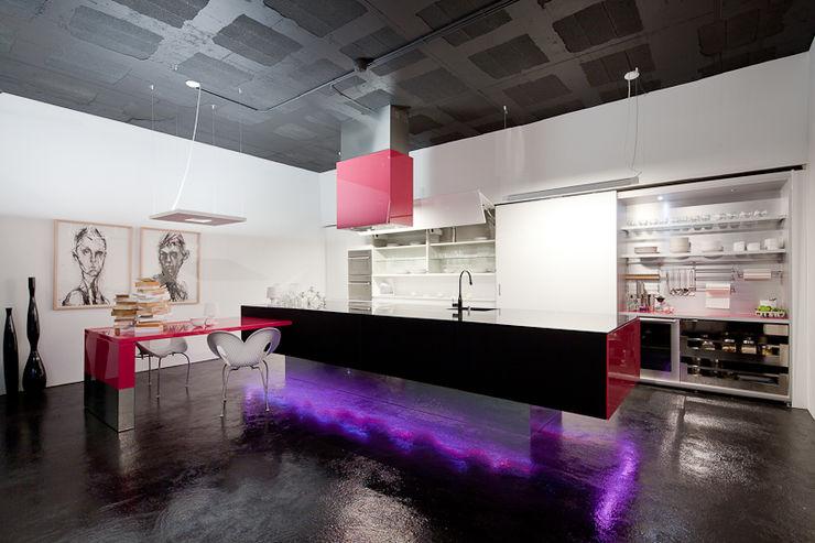 FABRI Modern kitchen MDF Multicolored