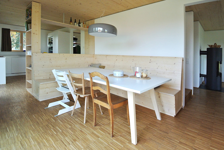 VS Volker Schmidt Architekten Modern Dining Room