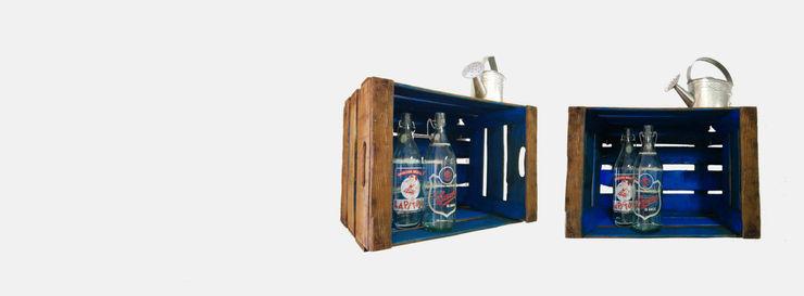 Cajas de fruta de madera Pablo Antigüedades HogarPlantas y accesorios Madera