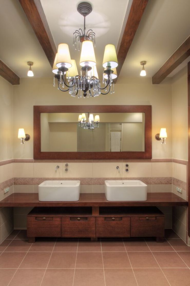 Jeżewska & Zakrawacz Classic style bathroom