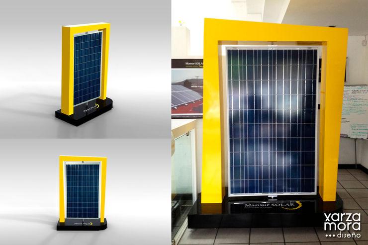 Mansur Solar Xarzamora Diseño Espacios comerciales de estilo minimalista