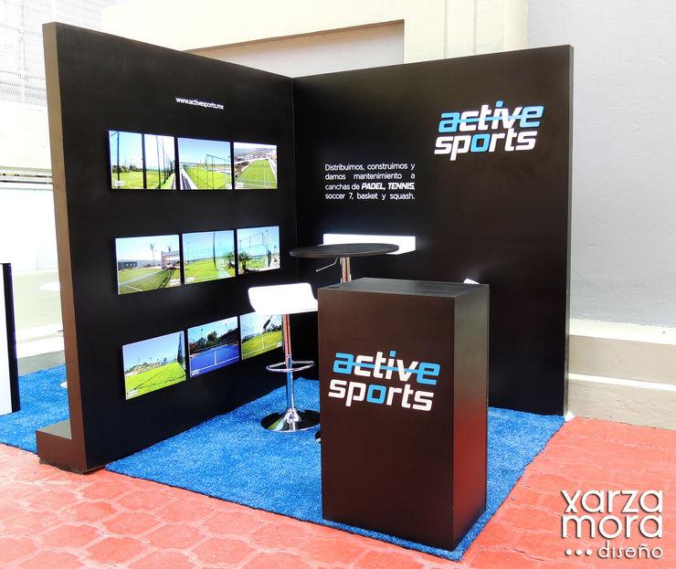 ActiveSports Xarzamora Diseño Centros de exposiciones de estilo minimalista